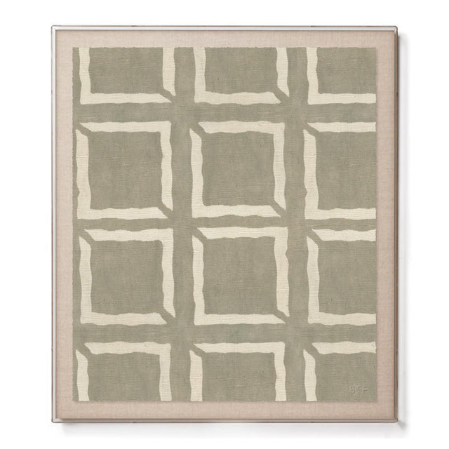 Mud Cloth I - Accent Framed Print
