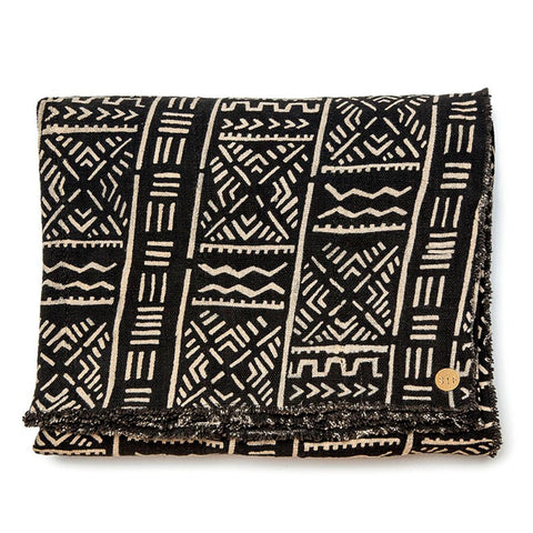St. Frank Mud Cloth Tablecloth from Burkina Faso