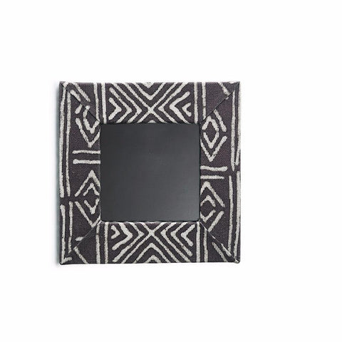 "Mud Cloth Picture Frame - 4"" x 4"""