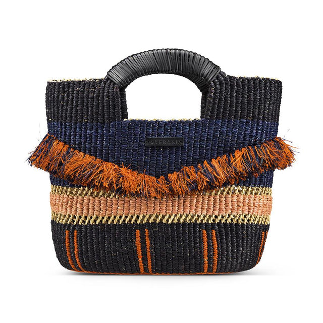 Navy Accra Tote - Accessory Accessories Ghana