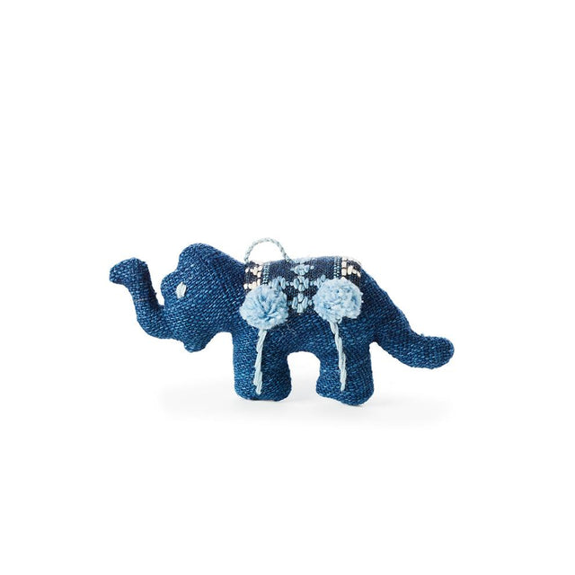 Blue Elephant - Ornament Holiday Accent Laos