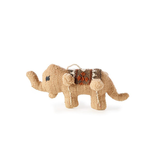 Beige Elephant - Ornament Holiday Accent Laos