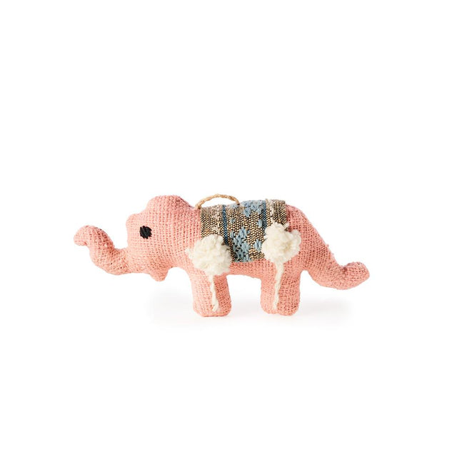 Pink Elephant - Ornament Holiday Accent Laos