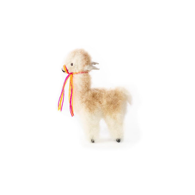 Brown Alpaca - Ornament Holiday Accent Peru