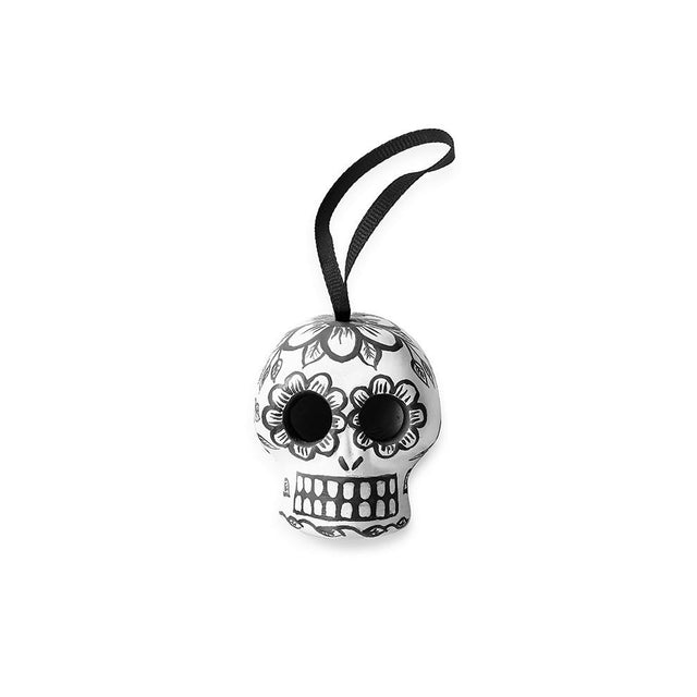 Black Skull - Ornament Holiday Accent Mexico