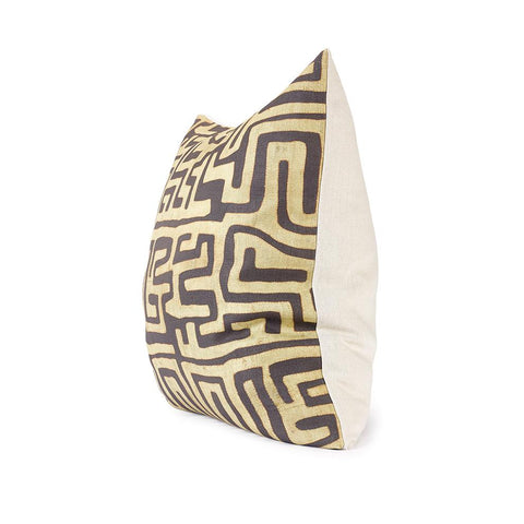 Coffee Classic Kuba Cloth - Floor Pillow