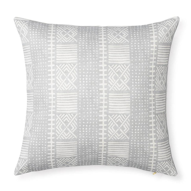 Dove Dots Mud Cloth - Floor Pillow