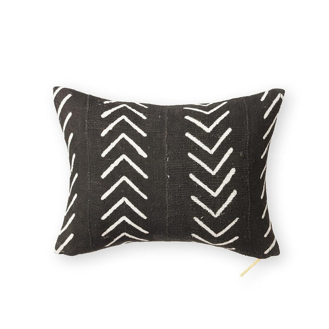 Mud Cloth XXVI - Short Lumbar Pillow