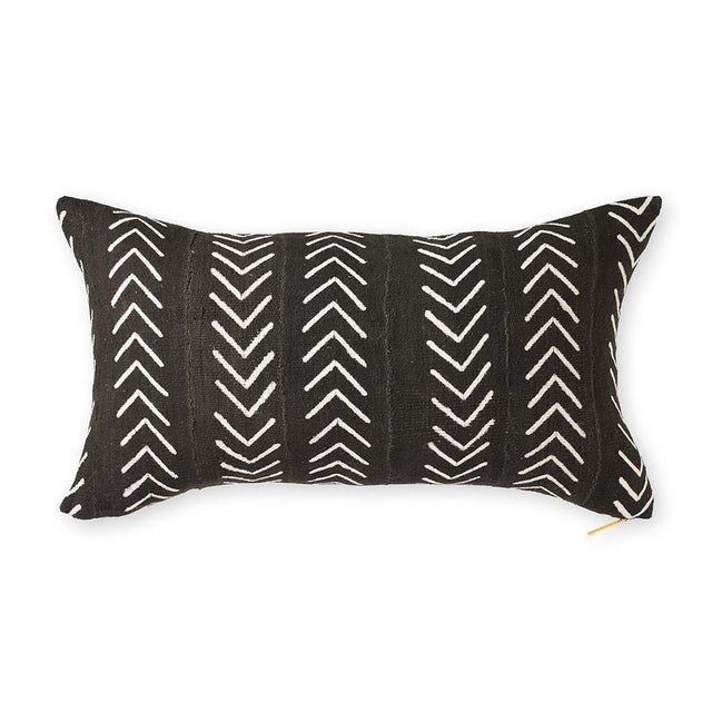Mud Cloth XXVI - Long Lumbar Pillow