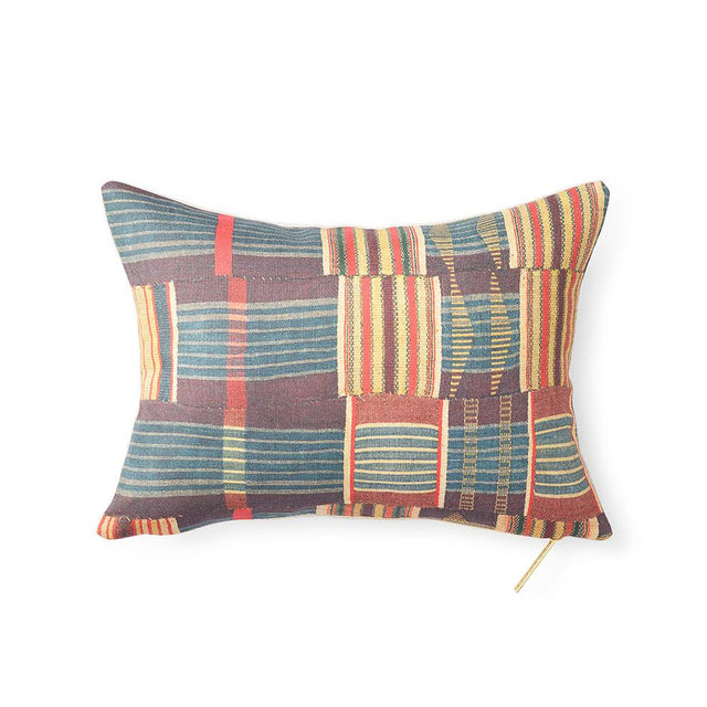 Ewe Kente - Lumbar Pillow