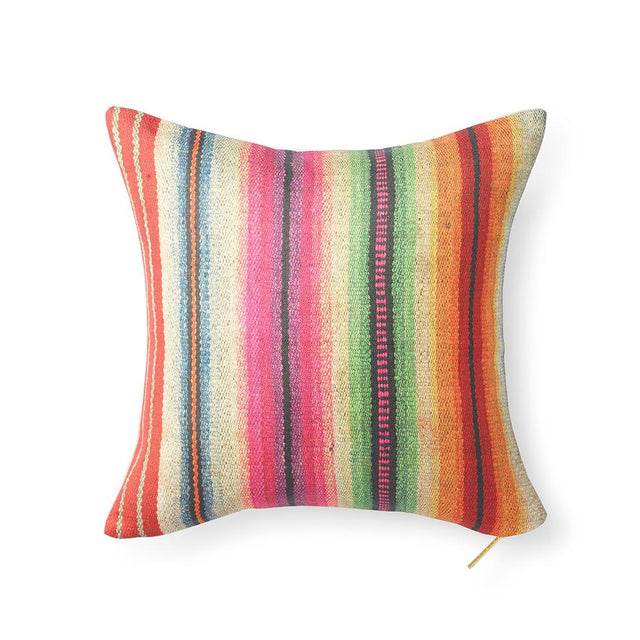 Technicolor Frazada - Throw Pillow Pillow St. Frank
