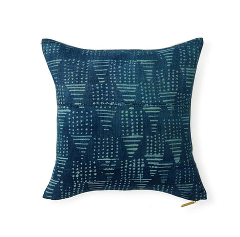 Indigo CII - Throw Pillow