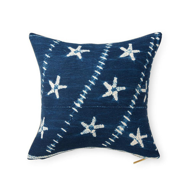Indigo CXLVII - Throw Pillow Pillow Burkina Faso