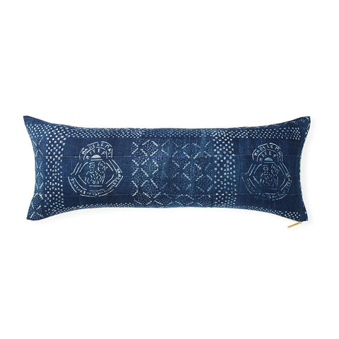 Indigo C - Lumbar Pillow