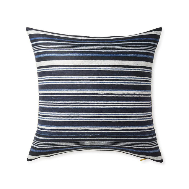 Striped Indigo - Floor Pillow