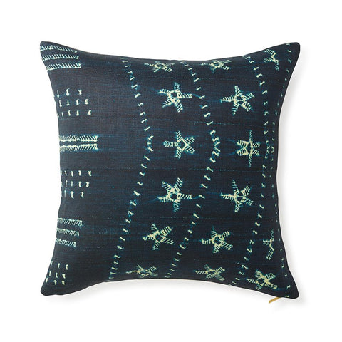 Star Indigo - Euro Pillow