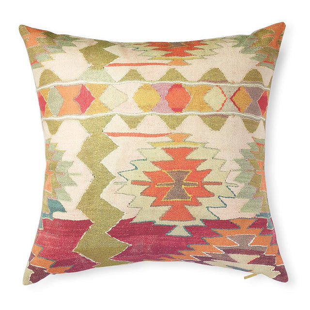 Kaleidoscope Kilim - Floor Pillow