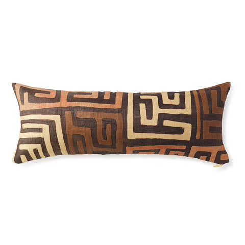 Kuba Cloth XXIII - Lumbar Pillow