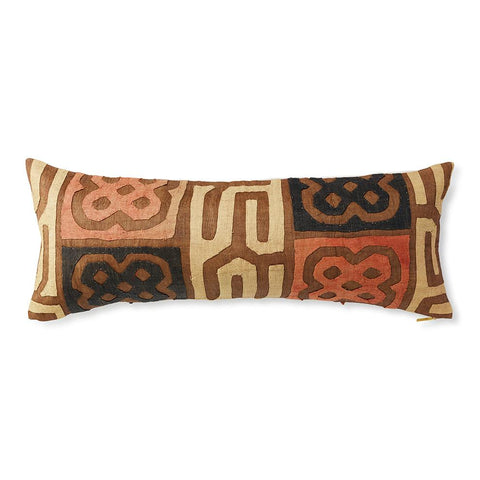 Kuba Cloth XXIV - Lumbar Pillow