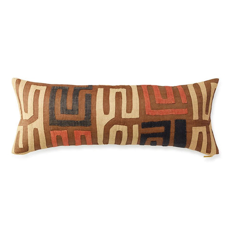 Kuba Cloth XXV - Lumbar Pillow