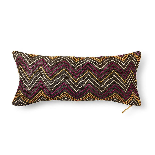 Kuba Cloth LI - Lumbar Pillow Pillow DEMOCRATIC REPUBLIC OF CONGO