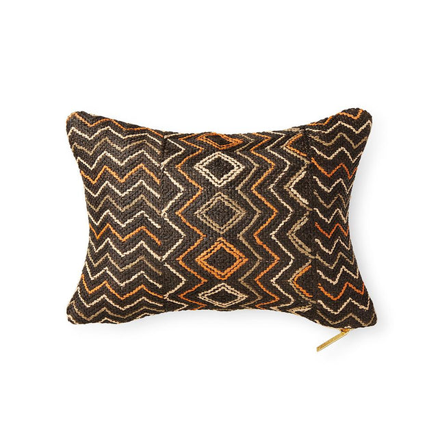 Kuba Cloth LX - Lumbar Pillow Pillow DEMOCRATIC REPUBLIC OF CONGO