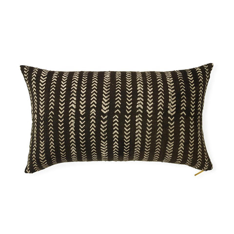 Mud Cloth XXII - Lumbar Pillow