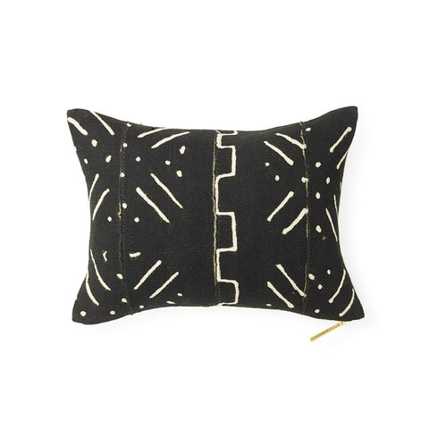 Mud Cloth XXI - Lumbar Pillow