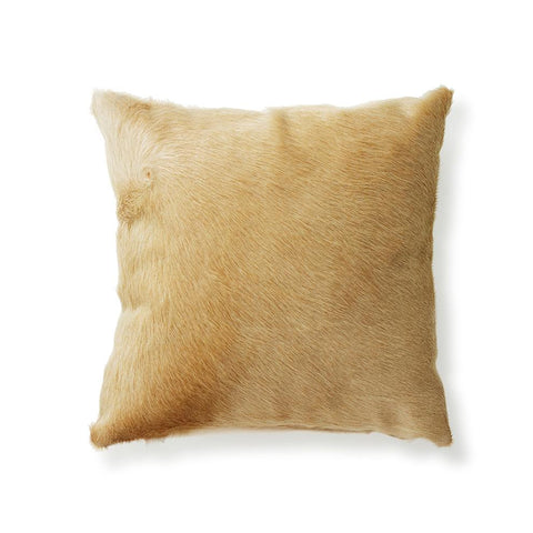 Palomino Cowhide - Throw Pillow