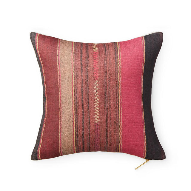 "Fuchsia Frazada - Throw Pillow 18"" x 18"" Default Oak Ridge Sample Company"