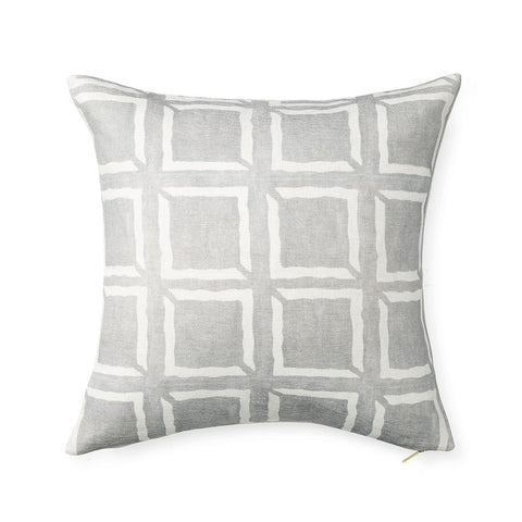Adobe Box Mud Cloth - Euro Pillow