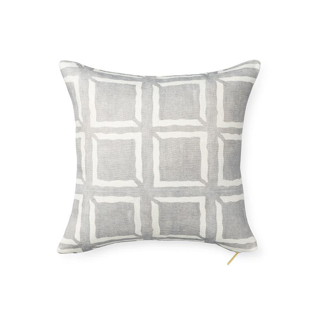 Adobe Box Mud Cloth - Throw Pillow