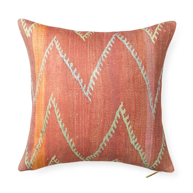 Chevron Kilim - Throw Pillow