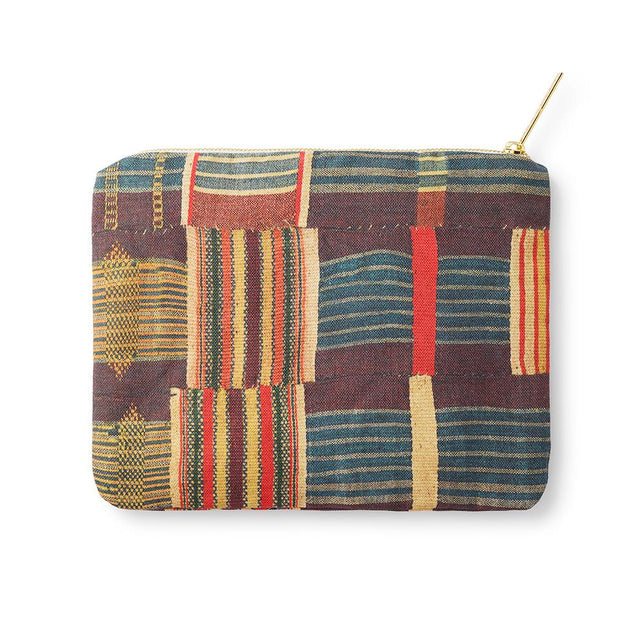 Ewe Kente - Zip Pouch Travel Accessories St. Frank