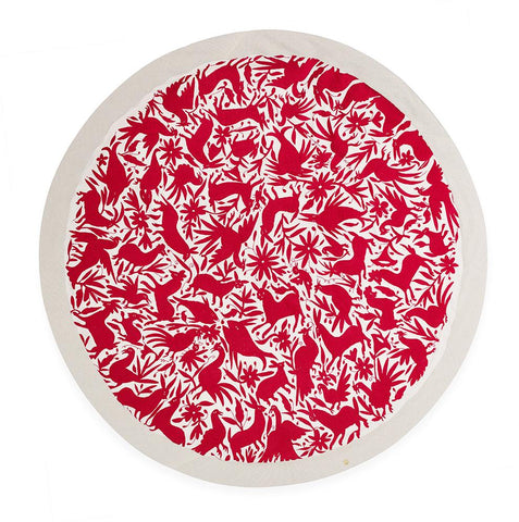Red Otomí - Tablecloth