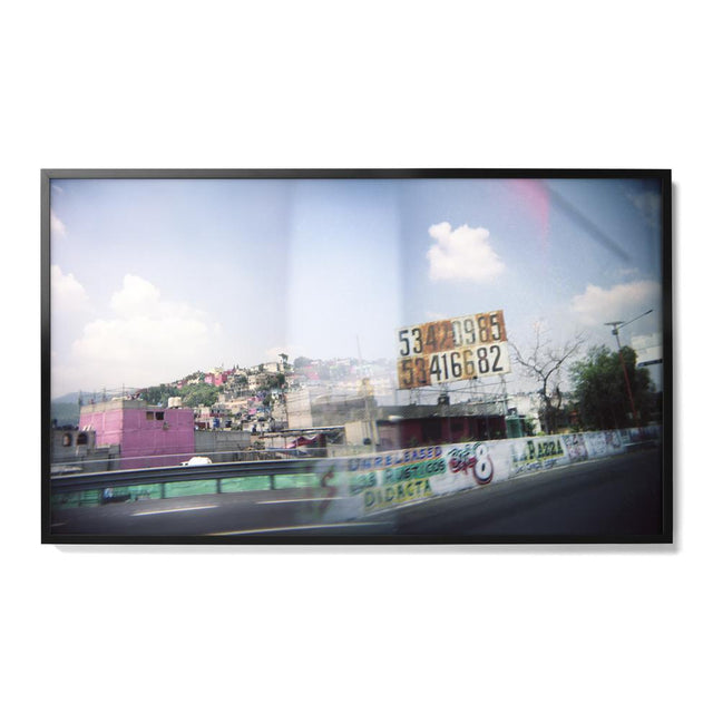 Road Sign & Hillside, Double Exposure Print Robert Malmberg x St. Frank