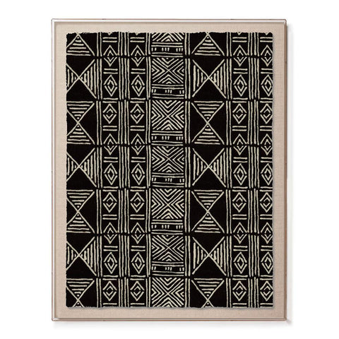 St. Frank Mud Cloth III Print Edition Statement