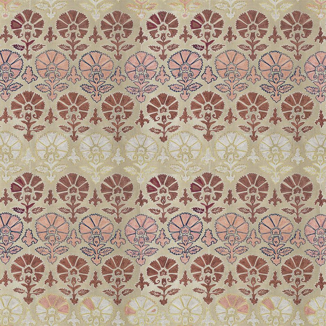 Silk Blush Suzani - Wallpaper Yardage St. Frank