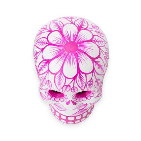 St. Frank Pink Day of the Dead Skull from Mexico