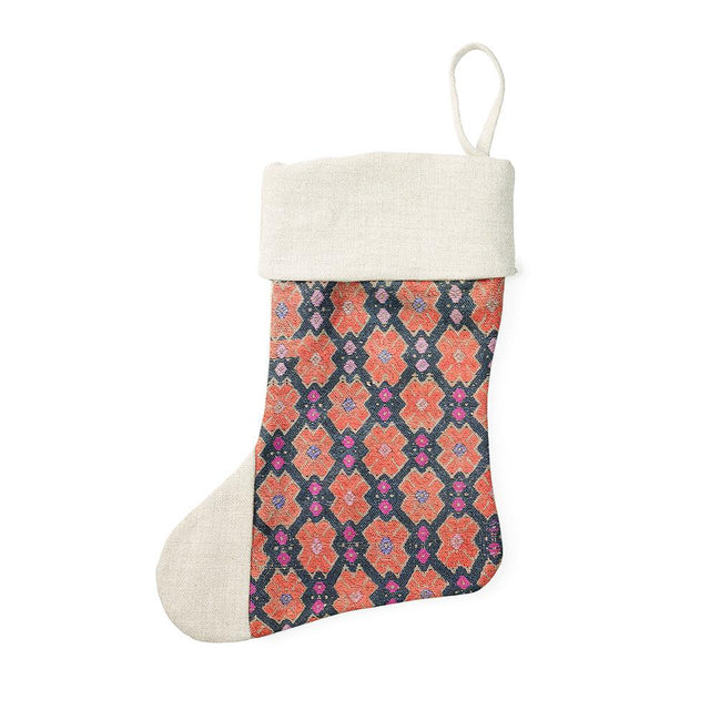 Cross Miao - Holiday Stocking Holiday Accent St. Frank