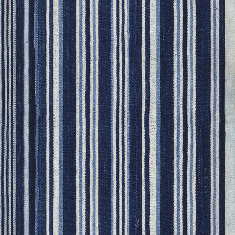 Striped Indigo - Wallpaper