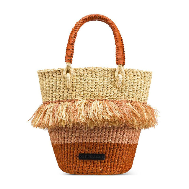 Tan Bucket Bag - Accessory