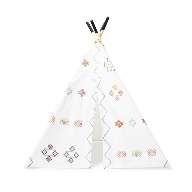 Ecru Cactus Silk Teepee - Accent Furniture