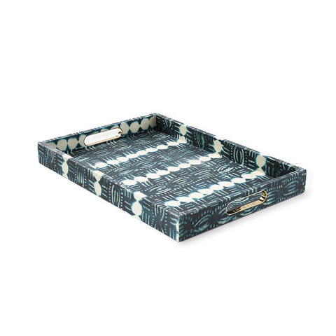 Beads Indigo - Large Tray