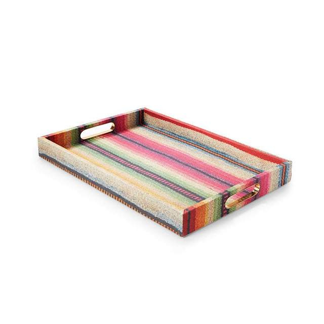 Technicolor Frazada - Large Tray Tray Philippines