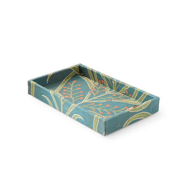 Teal Vines Suzani - Vanity Tray Tray Philippines