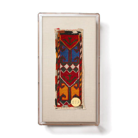 Lakai IX - Mini Framed Textile