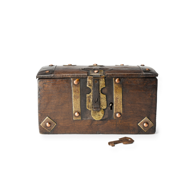 Small Locking Box - Art Object Curiosities Mauritania