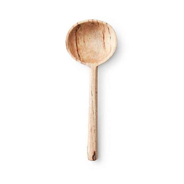 Spalted Pixi Wood Small Serving - Spoon Tabletop Guatemala