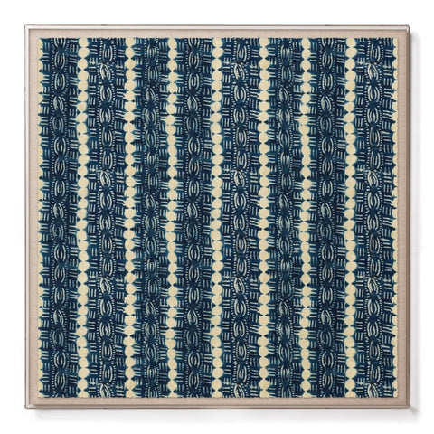 Beads Indigo - Sublime Framed Print